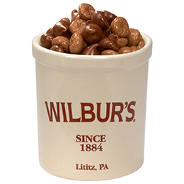 Wilbur® Large Crock with Milk Buds - 1.5 lb.