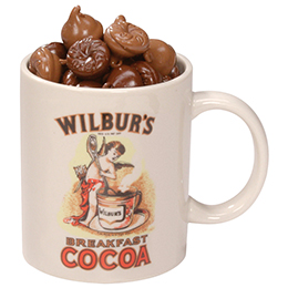 Wilbur® Cocoa Mug O'Buds with Milk Buds - 8 oz.