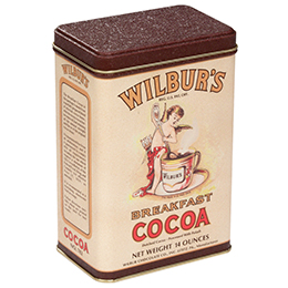 Wilbur® Antique Cocoa Tin - 14 oz. Tin